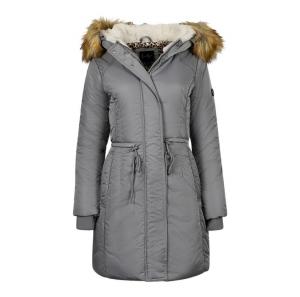 ihocon: Jessica Simpson Women's Water Resistant Puffer Parka Jacket  女士連帽長大衣