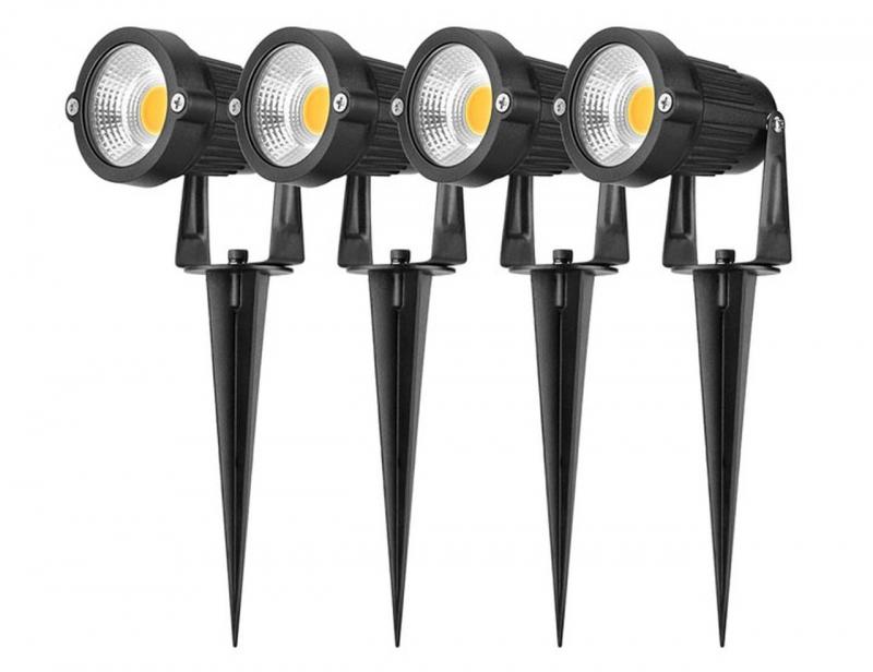 ihocon: Altatac Waterproof 5W Ultra-Bright LED Landscape Light (4-Pack) 防水庭園燈