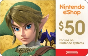 ihocon: 50 Nintendo Gift Card & Get $5 eBay Gift Card FREE! - Email Delivery
