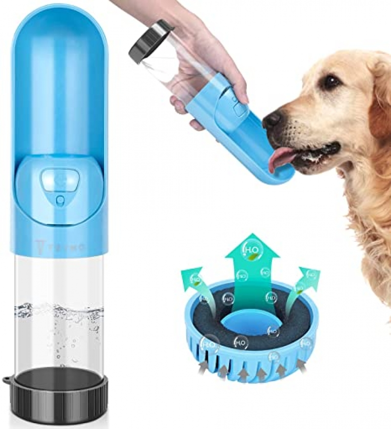 ihocon: TSYMO Dog Water Bottle (10 Oz) 寵物水瓶