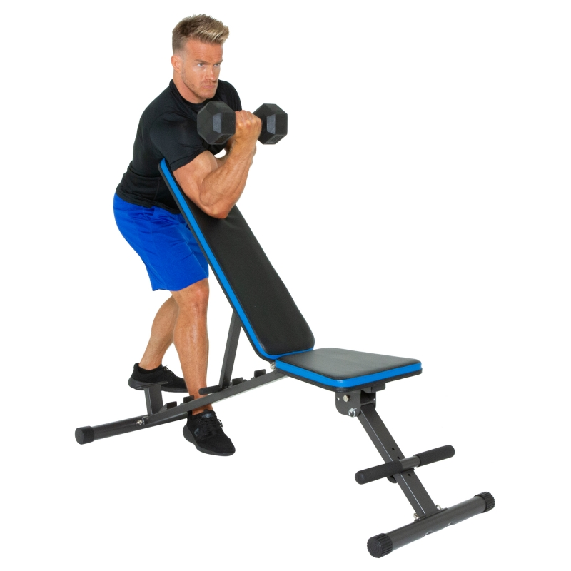 ihocon: ProGear PROGEAR 1300 Adjustable 12 Position Weight Bench 可折疊多功能健身凳