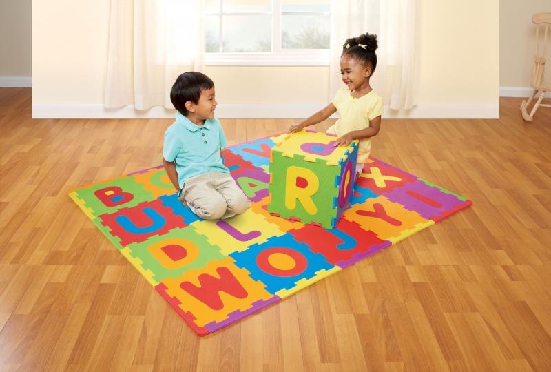 ihocon: Spark Create ABC Foam Playmat Learning Toy Set, 28 Pieces 兒童字母拼接地墊