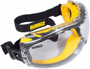 ihocon: DEWALT Concealer Clear Anti-Fog Dual Mold Safety Goggle 安全護目鏡