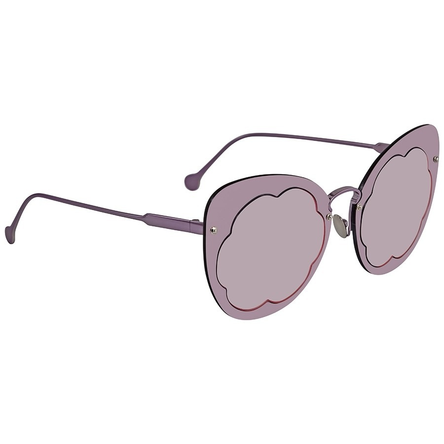 ihocon: Salvatore Ferragamo Violet Cat Eye Sunglasses 太陽眼鏡