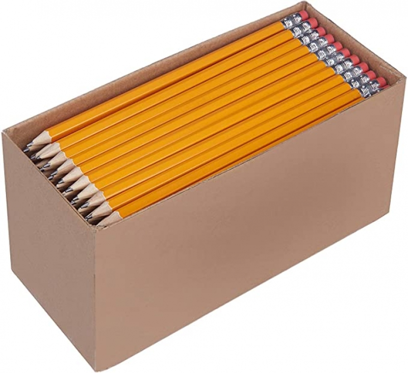 ihocon: AmazonBasics Pre-sharpened Wood Cased #2 HB Pencils, 150 Pack 鉛筆
