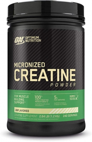 ihocon: Optimum Nutrition Micronized Creatine Monohydrate Powder, Unflavored, Keto Friendly, 240 Servings  肌酸粉