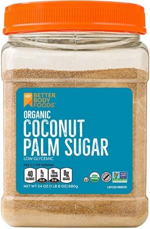 ihocon: BetterBody Foods Organic Coconut Palm Sugar, Gluten-Free, Non-GMO Sweetener Substitute (1.5 lbs.) 有機椰子棕櫚糖