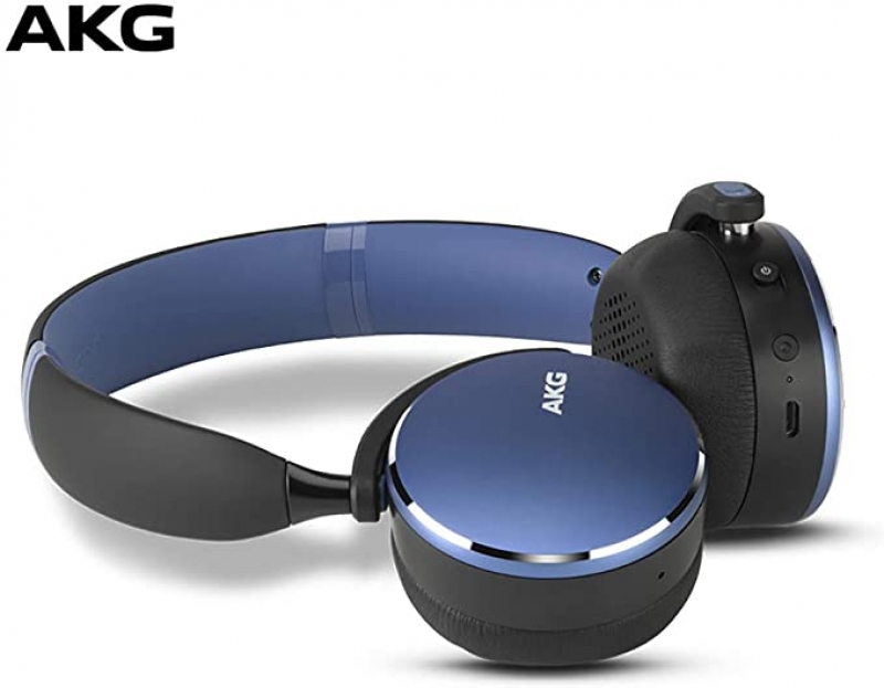 ihocon: AKG Y500 On-Ear Foldable Wireless Bluetooth Headphones 藍牙無線耳機