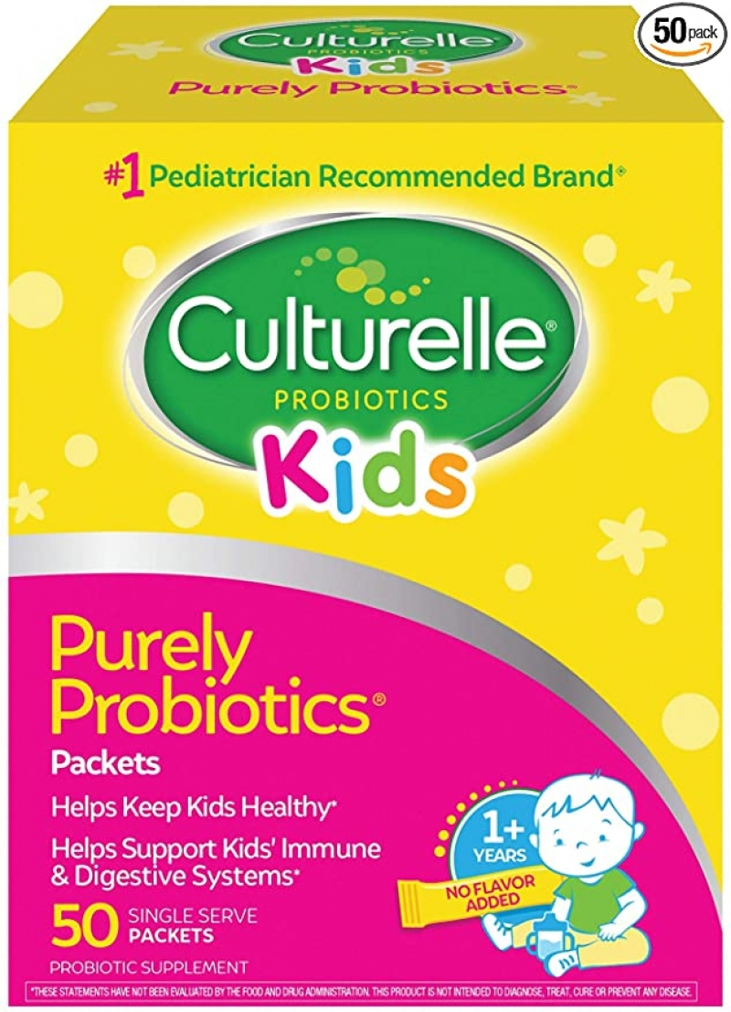 ihocon: Culturelle Kids Purely Probiotics Packets, 50 Single Packets 兒童益生菌