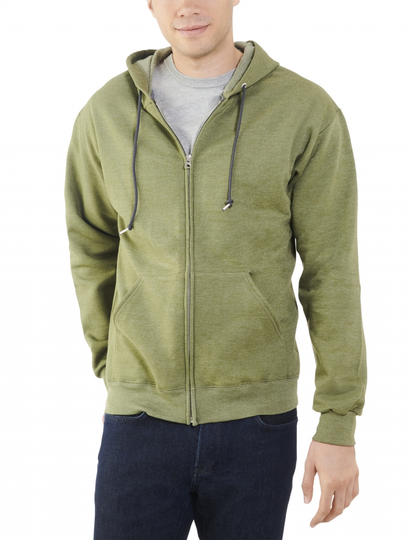 ihocon: Fruit of the Loom Men's Eversoft Fleece Full Zip Hoodie Jacket男士連帽外套