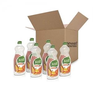 ihocon: Seventh Generation Dish Liquid Soap, Clementine Zest & Lemongrass Scent, 25 oz, Pack of 6 洗碗皂
