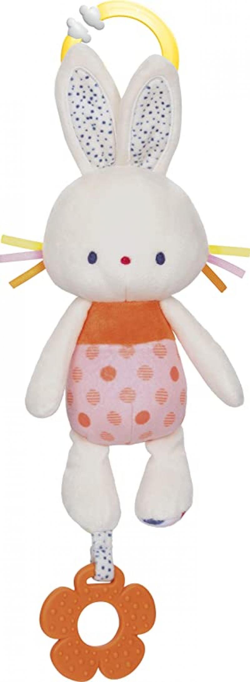 ihocon: 嬰兒玩具 - Baby GUND Tinkle Crinkle Activity Plush Bunny Stuffed Animal, 13吋