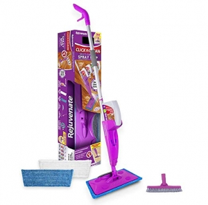 ihocon: [As Seen on TV] Rejuvenate Click N Clean Multi Surface Spray Mop Kit噴水拖把