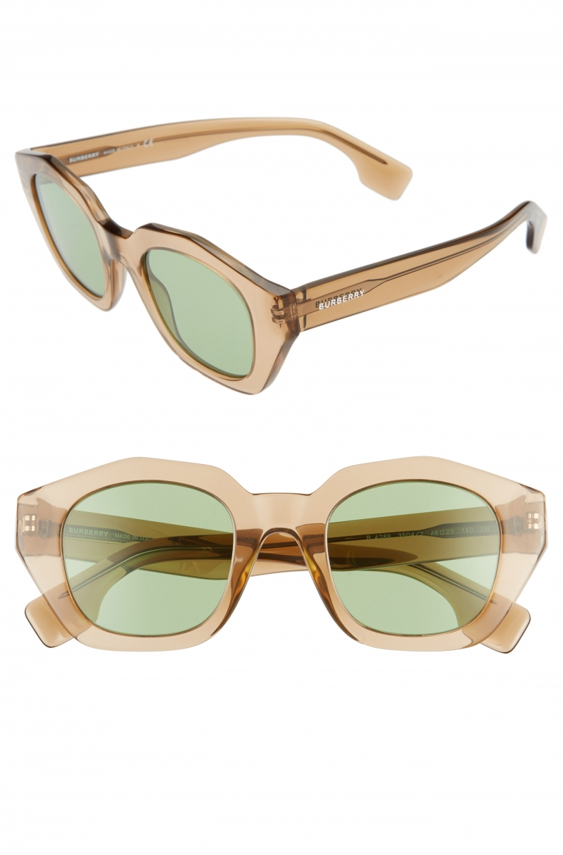 ihocon: Burberry 46mm Geometric Sunglasses 太陽眼鏡