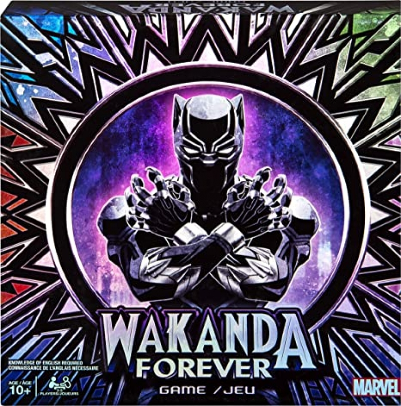 ihocon: 桌遊- Marvel Wakanda Forever, Black Panther Dice-Rolling Game for Families, Teens and Adults