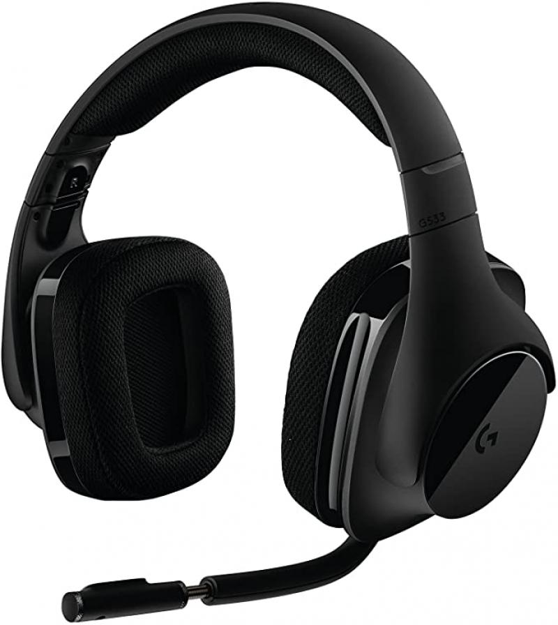 ihocon: Logitech G533 Wireless Gaming Headset 環繞聲無線遊戲耳機