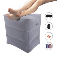 ihocon: GKCI Inflatable Travel Foot Rest充氣腳墊