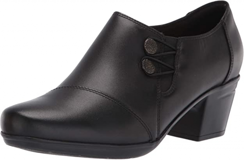 ihocon: Clarks Emslie Women's Warren Slip-on Loafer Leather Shoes  女鞋