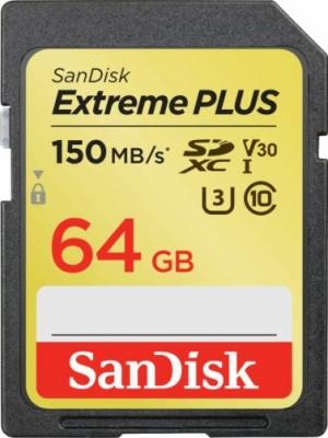 ihocon: SanDisk Extreme PLUS 64GB SDXC UHS-I Memory Card記憶卡
