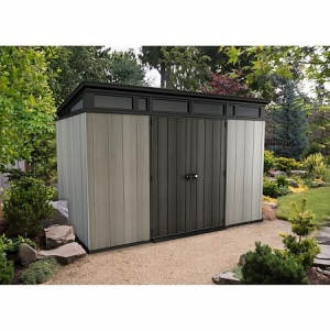 ihocon: Keter Artisan 11' x 7' Customizable Storage Shed 室外儲物室
