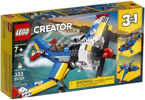 ihocon: LEGO Creator 3in1 Race Plane 31094 Building Kit (333 Pieces)