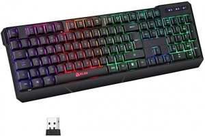 ihocon: KLIM Chroma Rechargeable Wireless Gaming Keyboard 無線遊戲鍵盤