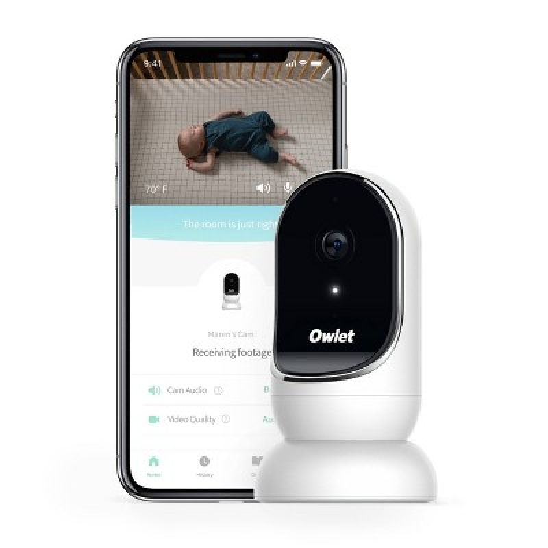 ihocon: Owlet Cam Baby Monitor with HD Video 高清嬰兒監看器