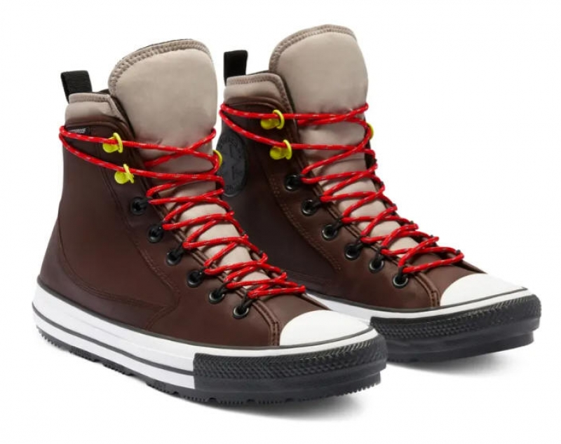 ihocon: CONVERSE Chuck Taylor All Star High Top Waterproof Leather Sneaker 防水高筒皮製運動鞋