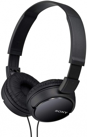 ihocon: Sony MDRZX110/BLK  ZX Series Stereo Headphones 立體聲耳機(有線)