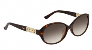 ihocon: Ferragamo Salvatore Brown Sunglasses 女士太陽眼鏡