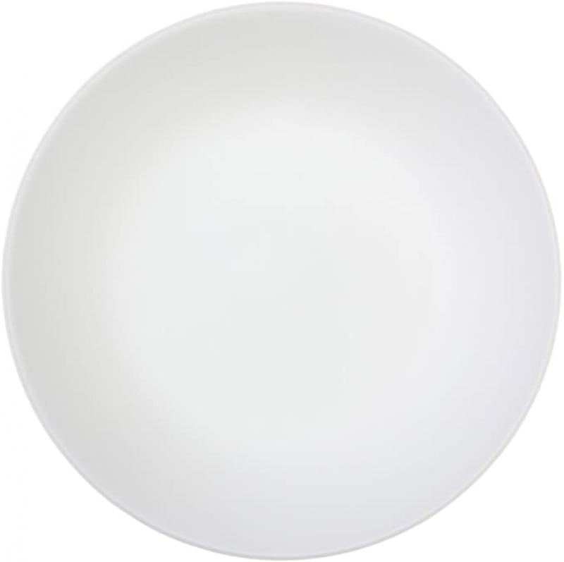 ihocon: Corelle Livingware Winter Frost White 10.25 Dinner Plate (Set of 8) 康寧餐盤