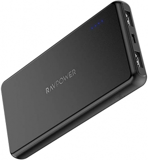 ihocon: RAVPower RP-PB165 10000mAh Portable Power Bank with 2 USB Charging Ports 行動電源/充電寶