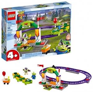 [2019年新款] LEGO樂高 Disney Pixar's Toy Story 4 Carnival Thrill Coaster 10771 (98 Piece) $15.99(原價$19.99)
