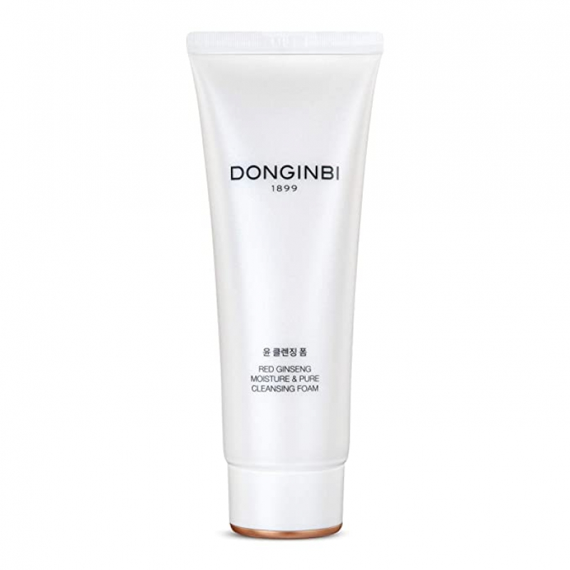 ihocon: DONGINBI Red Ginseng Moisture & Pure Cleansing Foam, Hydrating Face Wash 韓國人參泡沫潔面乳