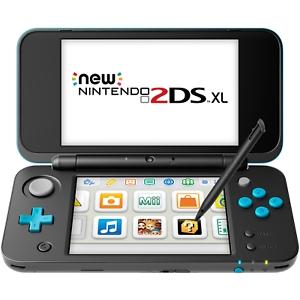ihocon: New Nintendo 2DS XL (Black + Turquoise) - REFURBISHED BY NINTENDO (原廠翻新機)
