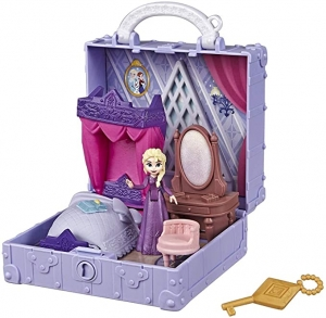 ihocon: Disney Frozen Pop Adventures Elsa's Bedroom Pop-Up Playset