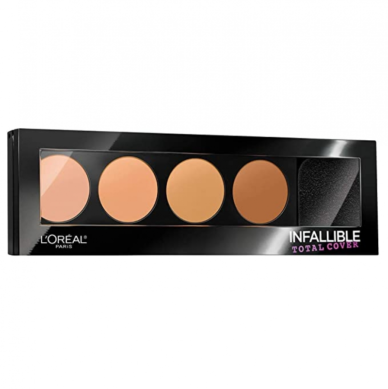 ihocon: L'Oreal Cosmetics Infallible Total Cover Concealing and Contour Kit 0.17 oz 遮瑕修輪廓