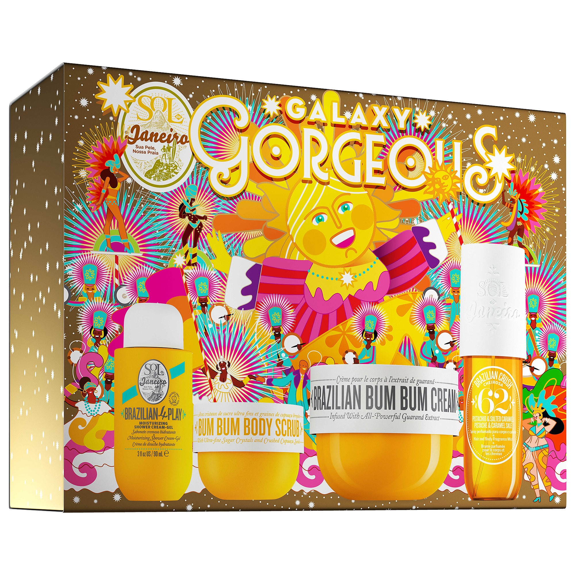 ihocon: Sol de JaneiroGalaxy Gorgeous Set (價值$93)