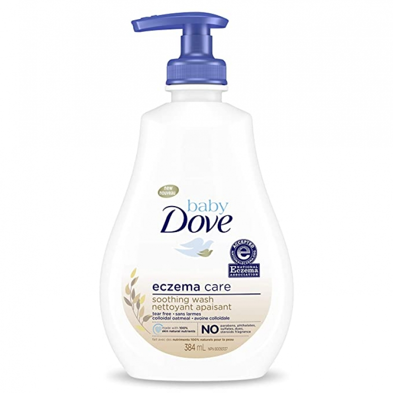 ihocon: Baby Dove Soothing Wash To Soothe Delicate Baby Skin Eczema Care, 13 oz 嬰兒沐浴乳