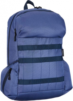 ihocon: AmazonBasics Canvas Laptop Backpack Bag for up to 15 Inch Laptops - Graphite 電腦背包