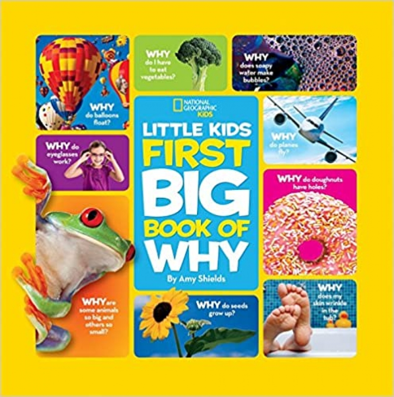 ihocon: [National Geographic國家地理雜誌出版]Little Kids First Big Book of Why - Hardcover精裝本