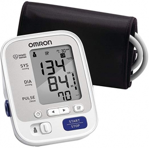 ihocon: Omron 5 Series Upper Arm Blood Pressure Monitor; 2-User, 100-Reading Memory, Soft Wide-Range Cuff 歐姆龍5系列上臂血壓計