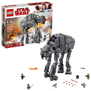 ihocon: LEGO Star Wars Episode VIII First Order Heavy Assault Walker 75189 Building Kit (1376 Piece)