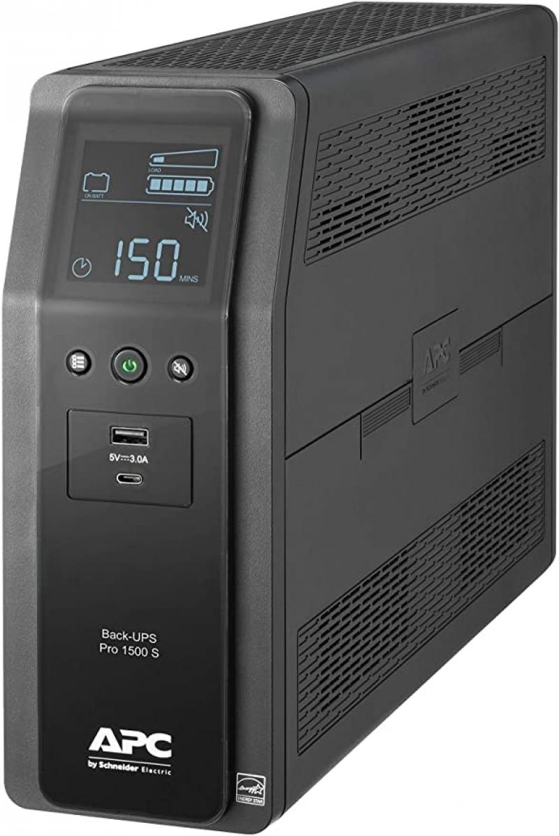 ihocon: APC UPS, 1500VA Sine Wave UPS Battery Backup & Surge Protector不斷電/電湧保護系統
