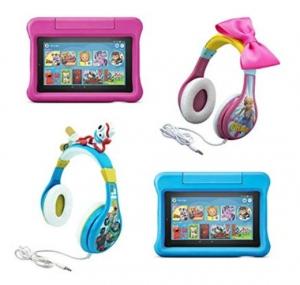 [預購, 最新款] Fire 7 Kids Edition Tablet兒童版平板電腦送Toy Story玩具總動員耳機, 買2台再75折!