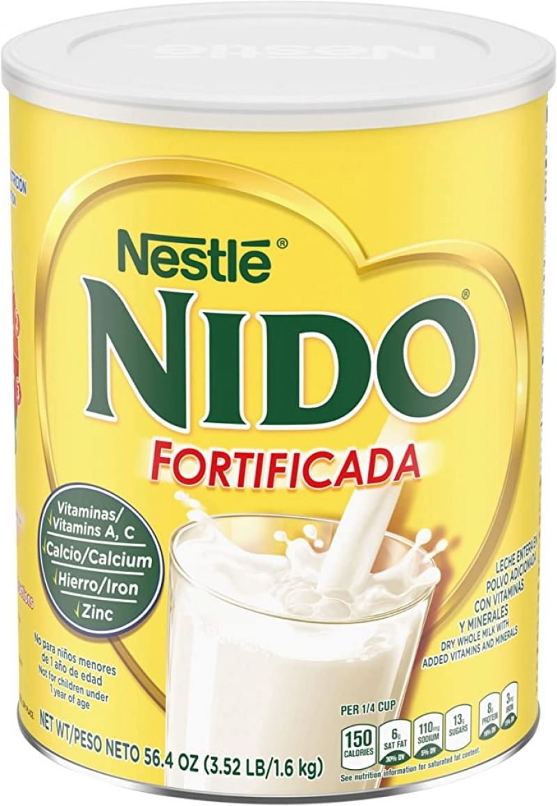 ihocon: NESTLE NIDO Fortificada Dry Milk 56.4 Ounce Canister 奶粉