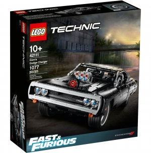 ihocon: [2020新款] LEGO Technic Fast & Furious Dom's Dodge Charger 42111 Race Car Building Set, New 2020 (1,077 Pieces)