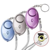 ihocon: EPOSGEAR Personal Security Alarm Keychain with LED Lights, 3 Pack 防狼警報器