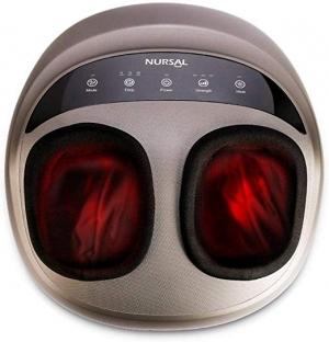 ihocon: NURSAL Foot Massager Kneading Shiatsu Therapy Massage with Switchable Heat Function 加熱足部按摩機