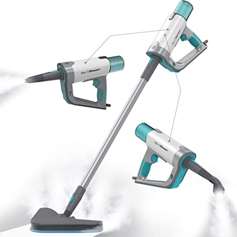 ihocon: PurSteam Steam Mop Cleaner 12 in 1 for Hardwood/Tiles/Vinyl  蒸汽拖把